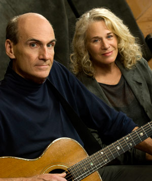See Carole King and James Taylor in Concert