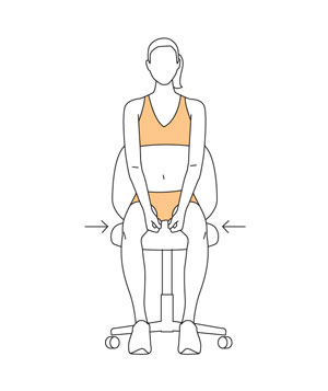Move 6: Seated Abduction and Adduction