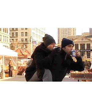 """""""Mark Malkoff Gets Carried in New York City"""""""