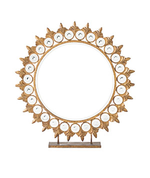 Standing Medallion mirror from Anthropologie