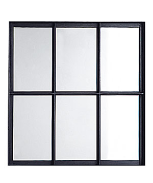 Factory steel-frame mirror