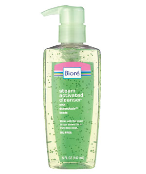Biore Steam Activated Cleanser