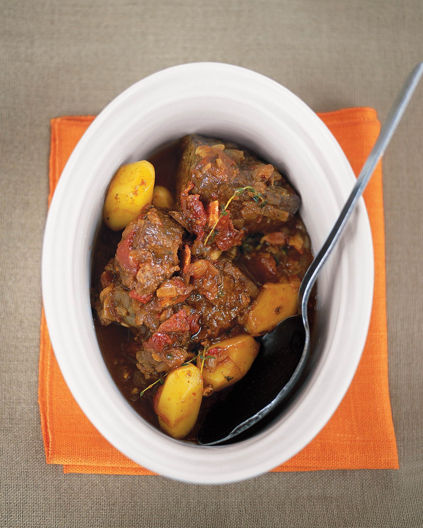 Beef and Beer With Yellow Potatoes