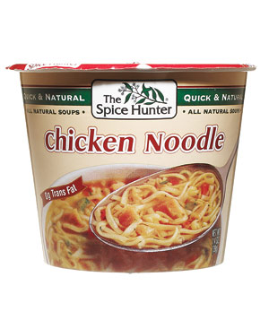 The Spice Hunter chicken noodle soup cup
