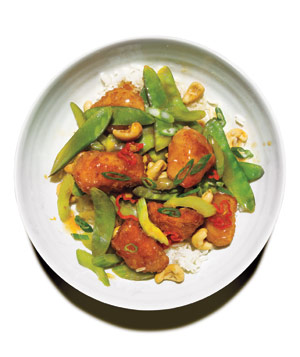 Sweet and Sour Chicken With Cashews