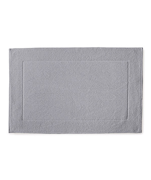 Textured Cotton Bath Mat - Dove Grey