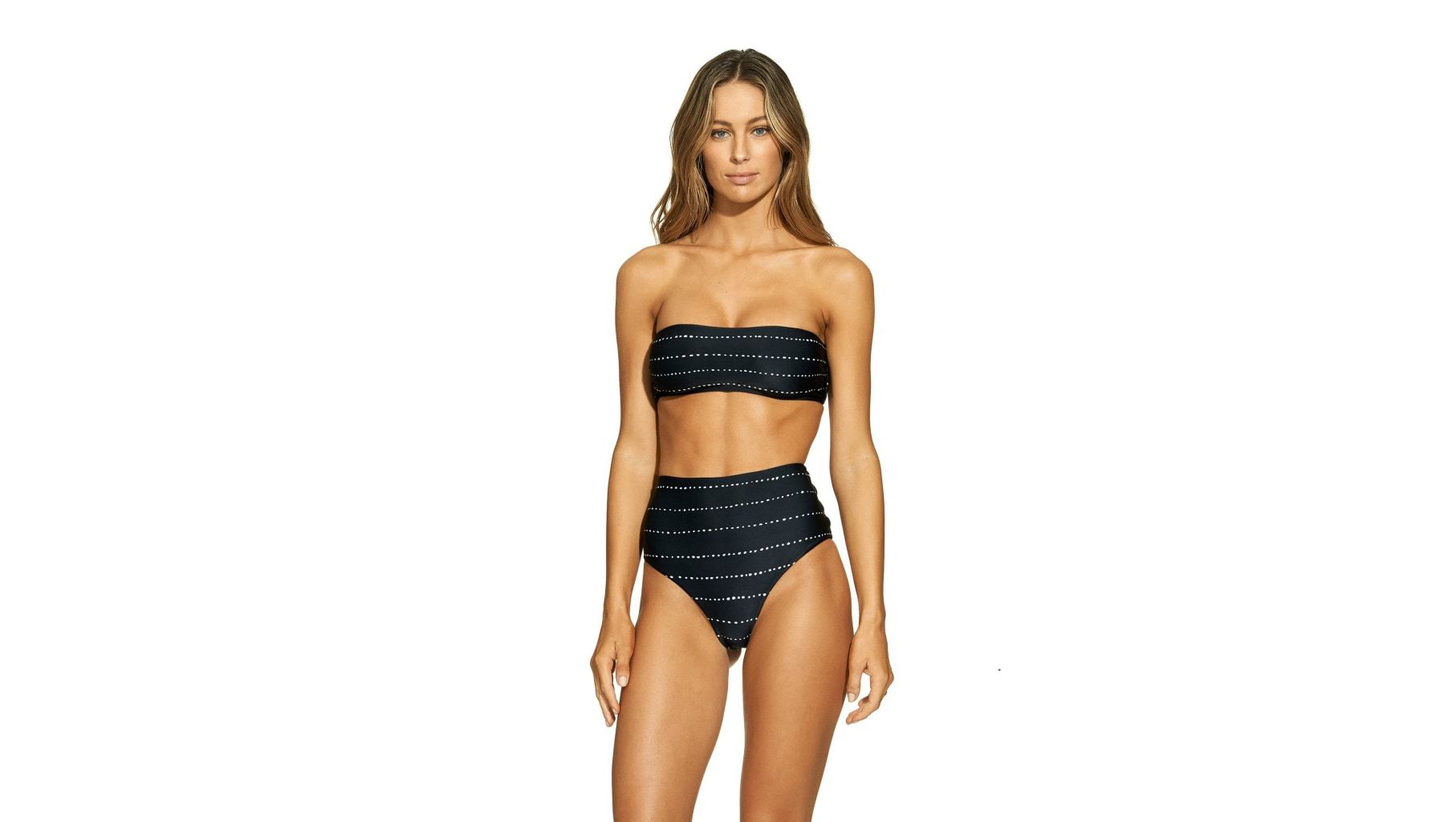 vix-stripe-dot-basic-bandeau-body-swimsuit