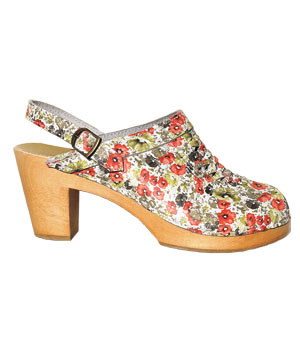 Woven Floral clogs by No. 6