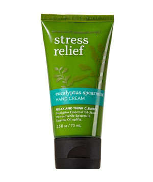 Bath & Body Works Stress Relief Aromatherapy Hand Cream