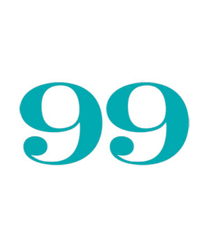 Illustration of the number 99