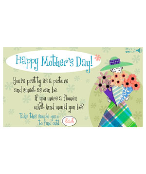 Flower Quiz Mother's Day E-card