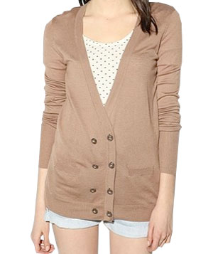 BDG Double Breasted Cardigan