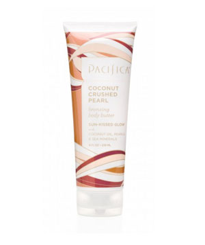 Pacifica's Coconut Crushed Pearl Bronzing Body Butter