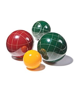 The Happy Pappy Bocce Set