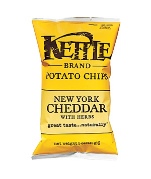 Kettle New York Cheddar With Herbs Potato Chips