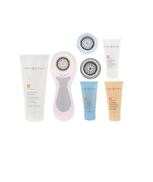 Clarisonic Pink Facial Cleansing System Kit