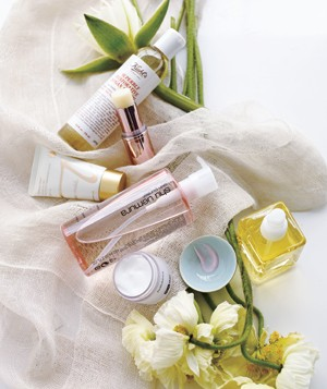 Oil skin care products