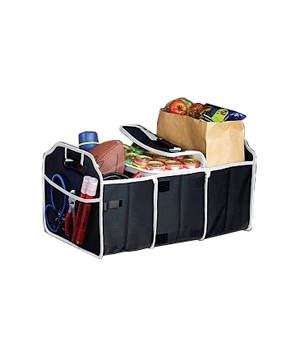 Car Trunk Organizer & Cooler From Red Envelope