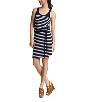 Nautical Stripe Tank Dress by Gap