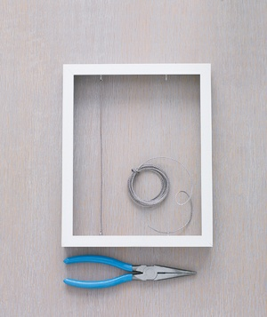 Frame and pliers