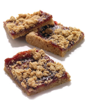 Oatmeal Raspberry-Jam Bars