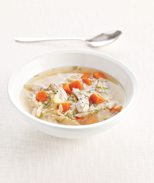 Turkey, Dill, and Orzo Soup