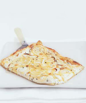 Goat Cheese and Onion Tart