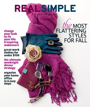 Real Simple cover September 2010