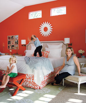 Katherine Movalson's finished bedroom