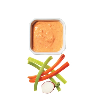 Red Pepper Aïoli With Crudités