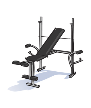 Weight Bench illo