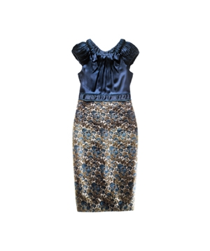 Magaschoni viscose dress