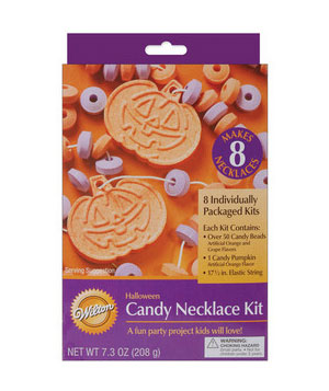 Halloween Candy Necklace Kit