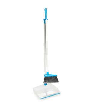 Real Simple Compact Dustpan and Broom