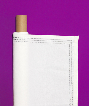 New use: paper towel roll as linen organizer
