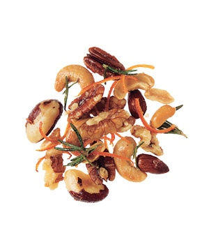 Buttered Nuts With Rosemary and Orange
