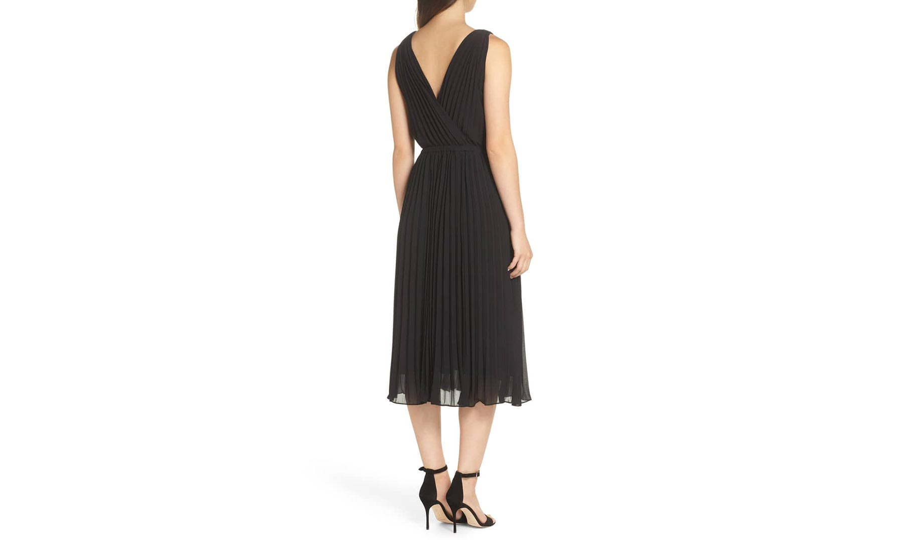 19 Cooper Pleated A-Line Dress
