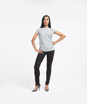 Model standing and shifting weight