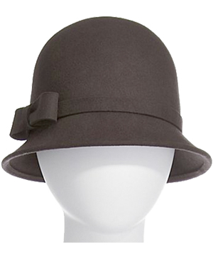 JC Penney Cloche With Bow