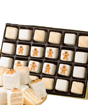 Gingerbread Petit Fours