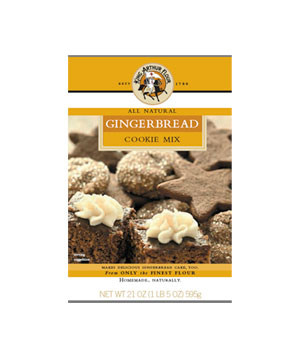 King Arthur Gingerbread Cookie & Cake Mix