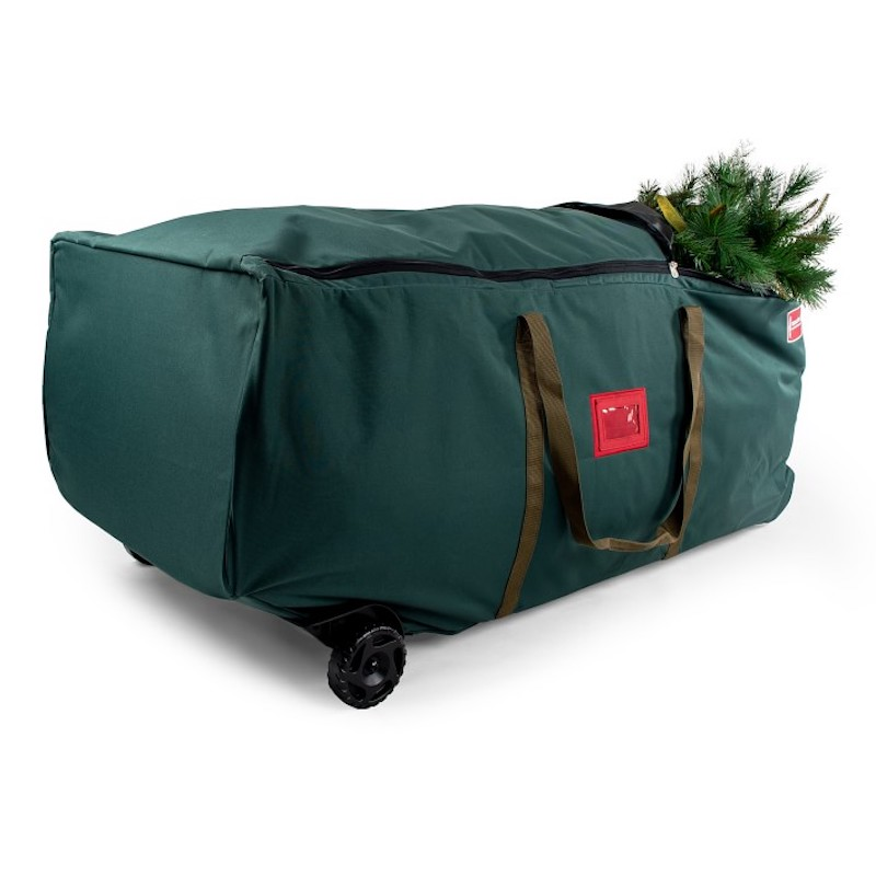 Christmas Tree Bag, in Green