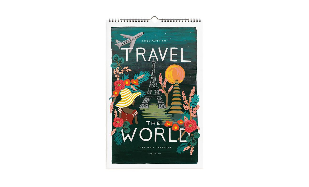 Travel the World Wall Calendar