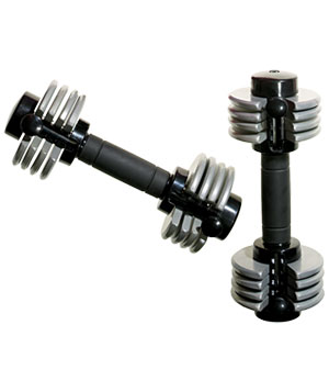 Weider PowerSwitch Adjustable Dumbbells