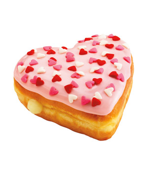 Dunkin' Donuts Cupid's Choice Donuts