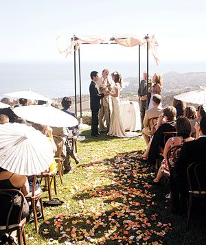 A Cliffside Ceremony