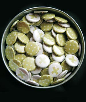 Buttons for wedding guests