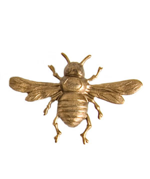 Beaux Maison Brass Bee Magnets
