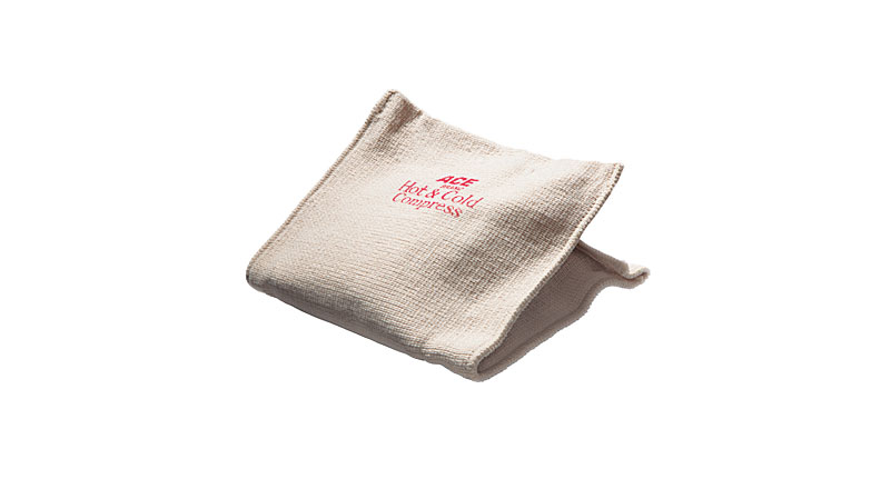 Cold or hot fabric-wrapped pack