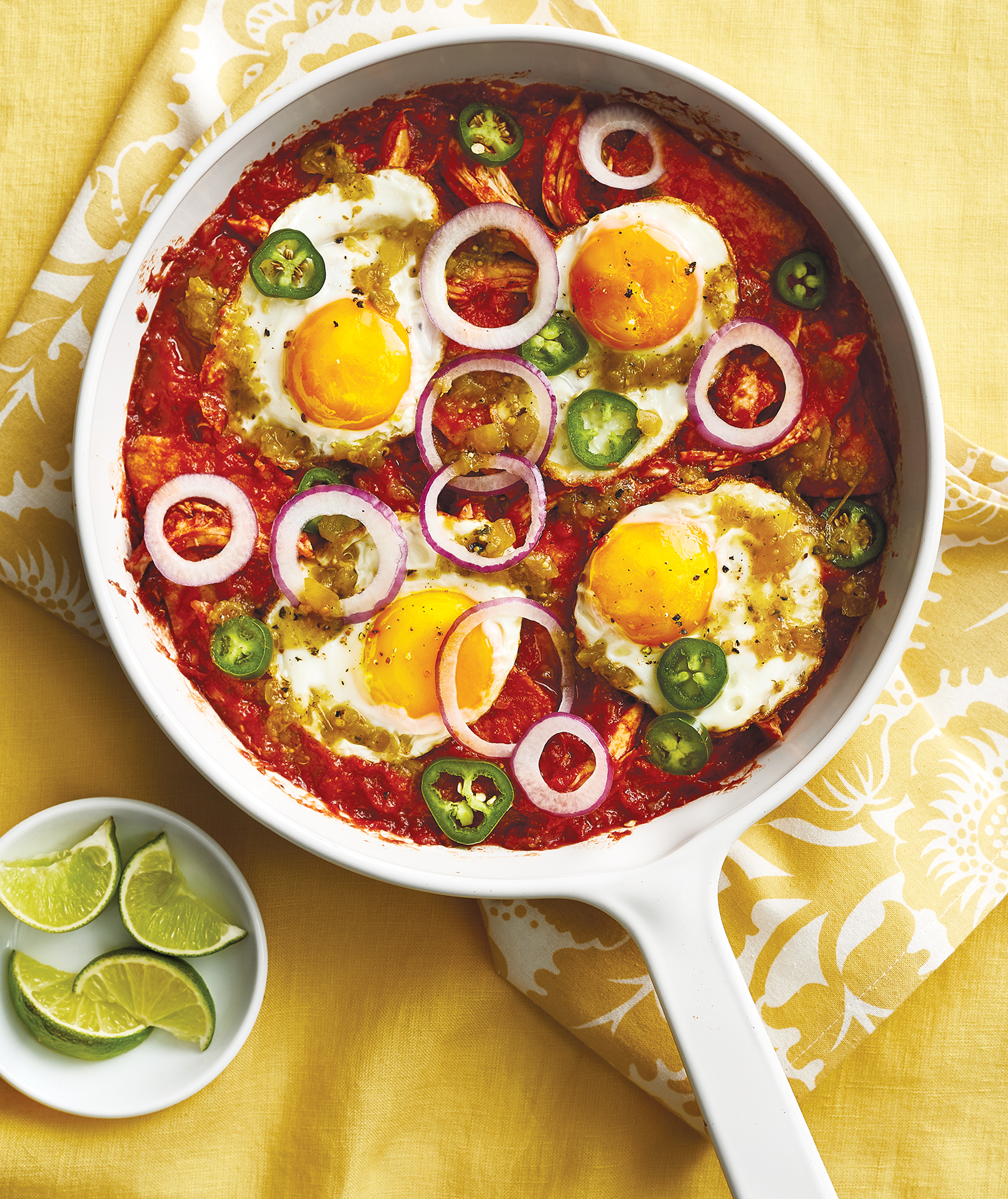 Red and Green Chilaquiles